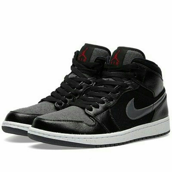 Nike Air Jordan Retro 1 Mid Prem New Mens Athletic fcd6538b4