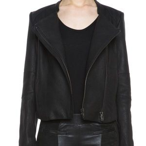 Helmet Lang Wither Fitted Leather Jacket