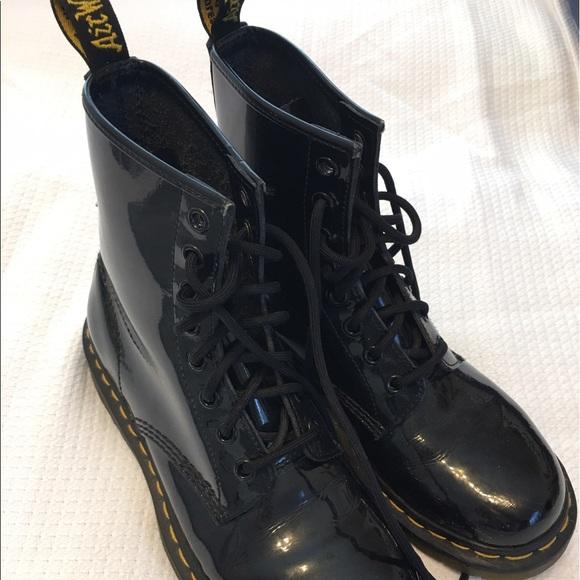 50 doc martens shoes black leather doc marten