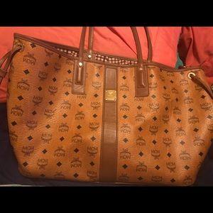 MCM Handbags - Mcm large Liz reversible tote bag