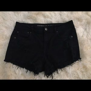 American Eagle Outfitters Pants - AE BLACK SHORTS