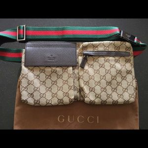 Authentic Gucci Fanny Pack waist bag