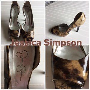 🌟Jessica Simpson Animal Print Heels