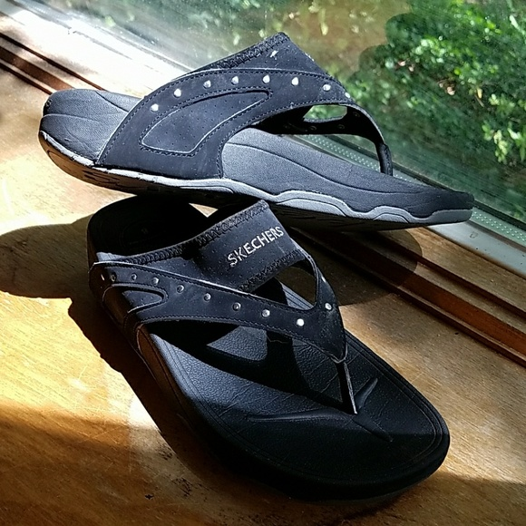 58 Off Skechers Shoes - Skechers Tone Up Flip Flops Size -1749