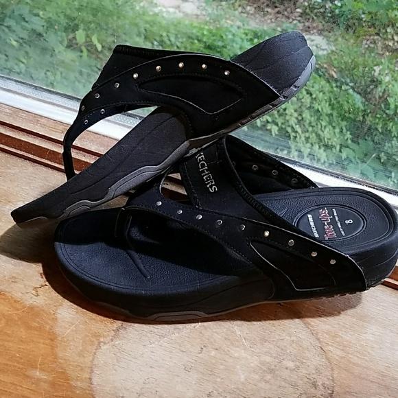 58 Off Skechers Shoes - Skechers Tone Up Flip Flops Size -4734