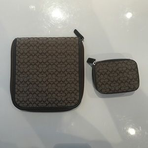 Coach Accessories - Coach cd holder and a travel jewelry box