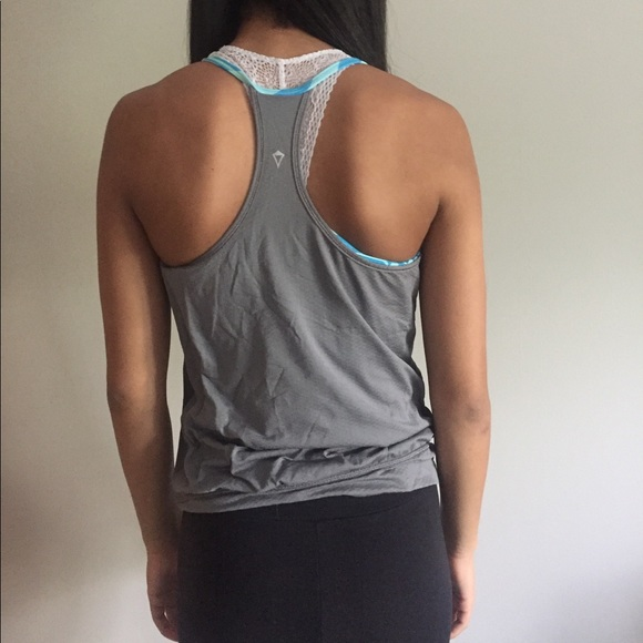 63 off ivivva tops exercise tank top with built in for Shirts with built in sports bra