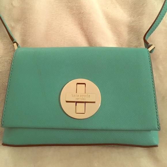 269fbf4f0330 Bags   New Kate Spade Crossbody Bag Purse Kelly Green   Poshmark