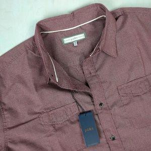 Paper Denim & Cloth Short Sleeve Button Down Shirt
