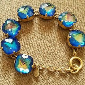 Catherine Popesco Jewelry - Xlarge stone bracelet - Ultra Sky