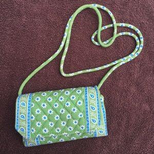 Vera Bradley Handbags - Vera Bradley crossbody wallet 👛👜