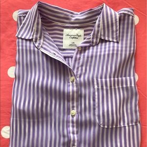 American Eagle Outfitters Tops - STRIPED TOP