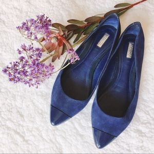 Schutz Shoes - {Schutz} leather captoe flats