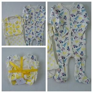 Rosie Pope Other - NEW 3 PC ROSIE POPE BABY SLEEPER SETS
