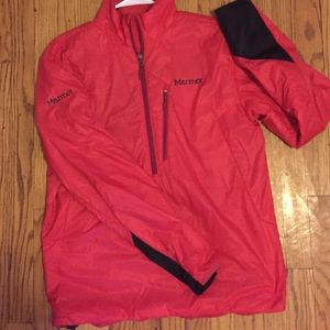 Marmot Jackets & Blazers - Marmot red jacket pullover