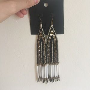 H&M Jewelry - H&M Beaded chandelier earrings