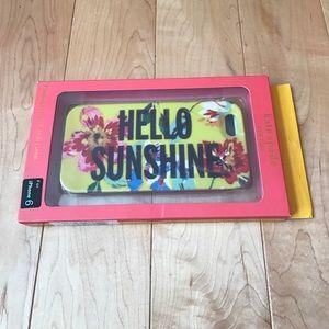 kate spade Accessories - Kate Spade Hello Sunshine Iphone 6 Case