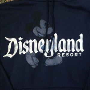Sweaters - Navy Disneyland hoodie