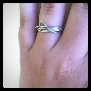 Sorrelli Jewelry - Handmade wave ring