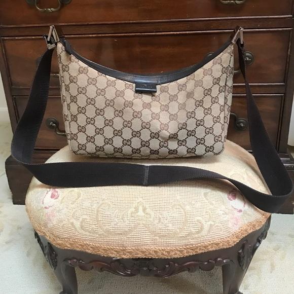 edc24cf6ca66 Gucci Bags | Signature Gg Canvas Messenger Bag | Poshmark