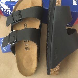 Birkenstock Shoes - Birkenstock New sandals size 40 color black