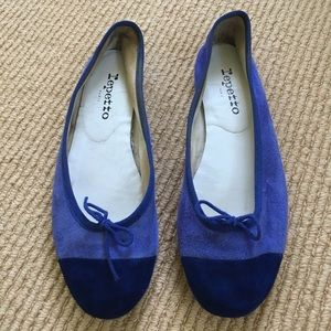 Repetto Shoes - Two tone Repetto Ballerina Flats