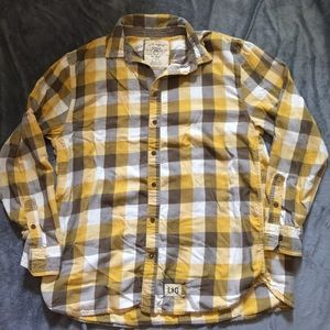 Life Is Good Other - Men's Life is Good plaid long sleeve button down