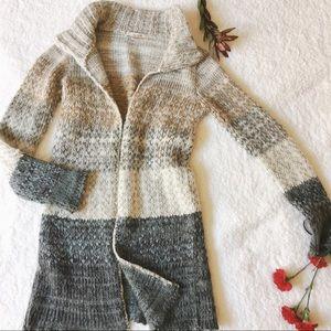 Free People Jackets & Blazers - {free people} ombre duster sweatercoat