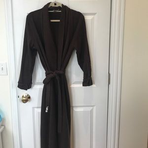 Other - Women's brown 100% cashmere robe size s/m