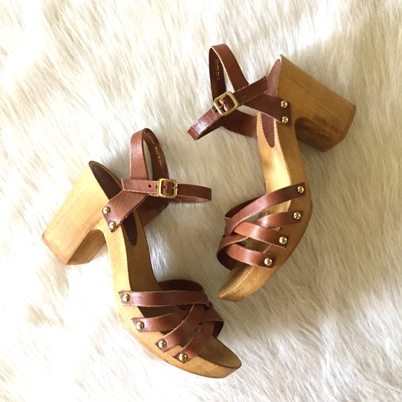 238ded76032 TOPSHOP chunky heel Nancy leather sandals. M 59483b57620ff7110800283e