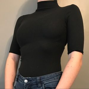Boohoo Petite Tops - Boohoo 3/4 Long Sleeve Bodysuit