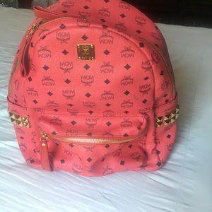 MCM Handbags - MCM Large Studded backpack