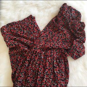 Vintage 90's grunge mom floral dress