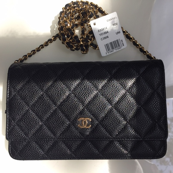 CHANEL - Authentic Chanel WOC (wallet on chain) from Lynn ...