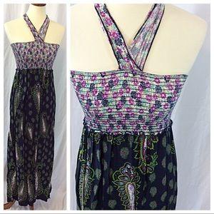 Paisley Halter Dress