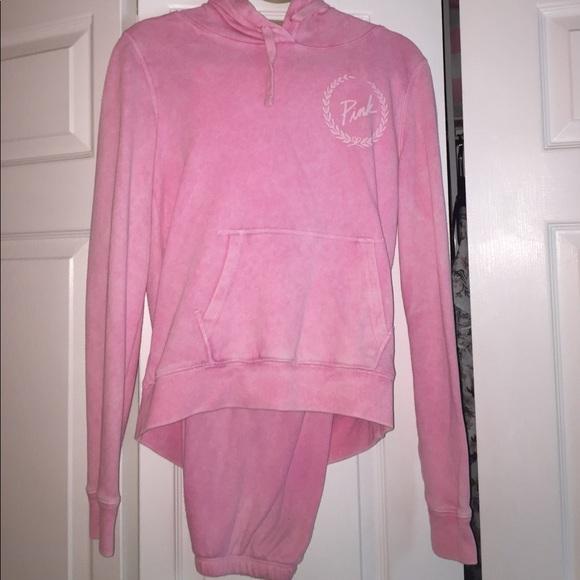 ad41ac81356a4 Victoria secret sweatpants / sweatshirt outfit