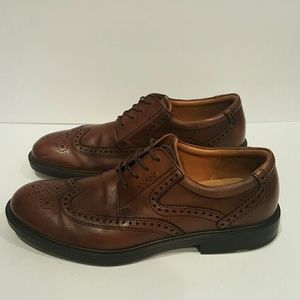 Ecco Other - ECCO MENS SIZE 45 WINGTIP DRESS SHOES