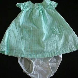 NB dress and diaper cover