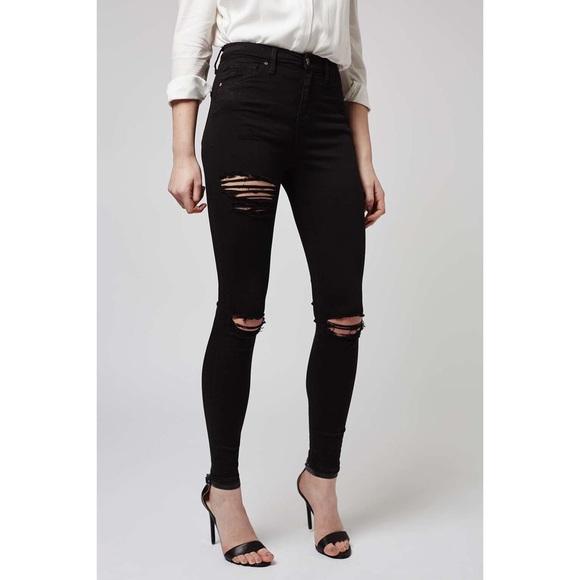 ea07731c9b Topshop Jeans | 1 Hr Sale Nwot Super Ripped Jamie | Poshmark