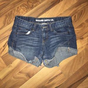 Pants - Dark jean shorts