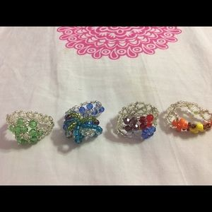 💎4 Handmade Rings From Peru