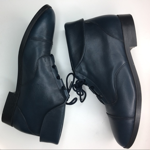 0192c8afcd4f3 VINTAGE 90's Leather Ankle boots