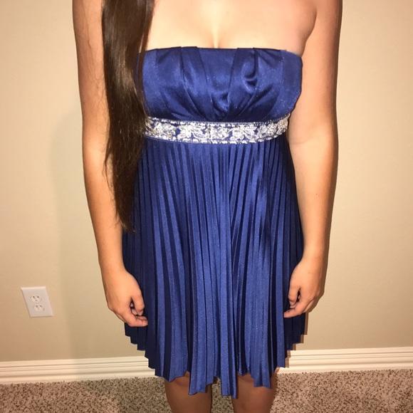 Royal Blue Short Formal Dress Poshmark