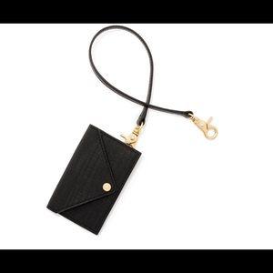 Dagne Dover Handbags - Dagne Dover Onyx Card Case and Key Leash