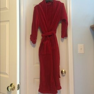 Adonna Other - Fuzzy & Red Fleece Robe