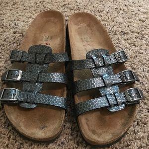 Birkenstock Shoes - Gray Birki's by Birkenstock size 38