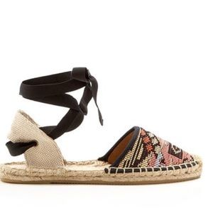 Soludos Shoes - ✨Soludos Espadrille Ankle Tie Flats Size 8✨
