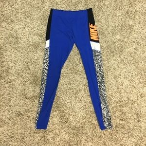Nike blue leggings