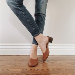 Who What Wear Shoes - Who What Wear Camel Mules • Size 7.5