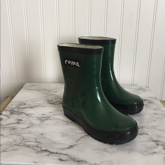 67 Off Roma Other Roma Hunter Green Rain Boots Toddler